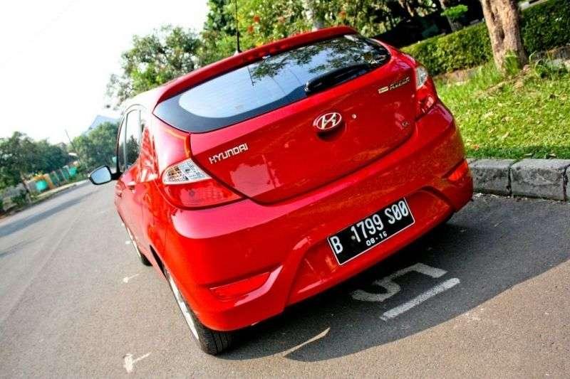 Hyundai Grand Avega 1st generation 1.4 MT hatchback (2011 – n.)