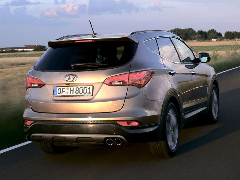 Hyundai Santa Fe DMcrosover 5 dv. 2.4 AT 4WD High tech (2012) (2012 – current century)