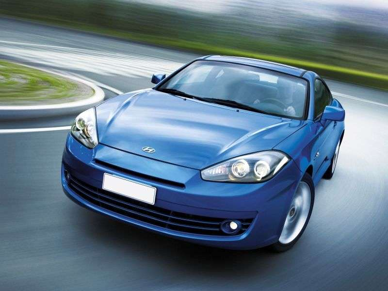 Hyundai Tiburon GK F / L2 [2nd restyling] coupe 2.7 6MT (2007–2008)