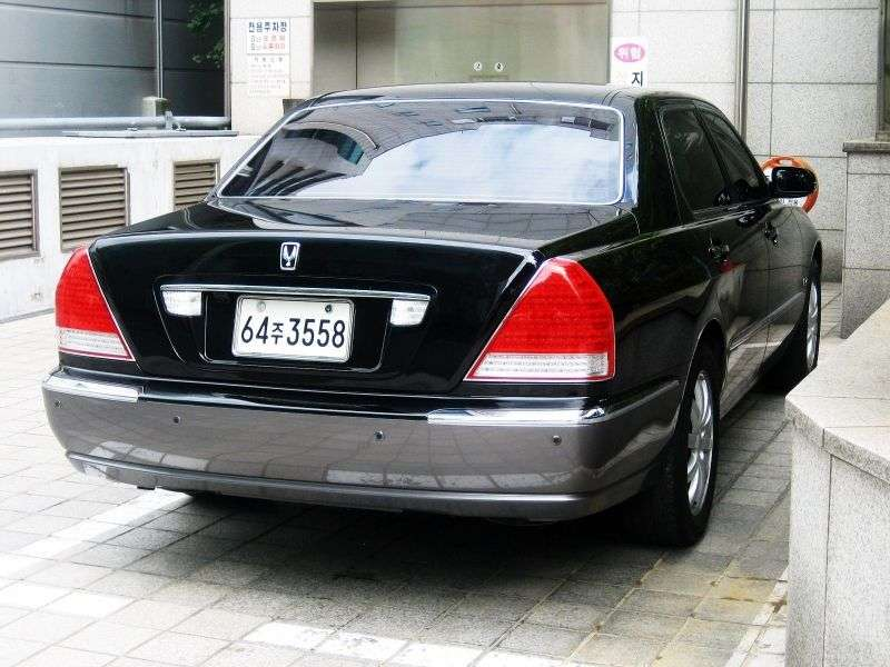 Hyundai Centennial 1st generation [restyling] sedan 4.5 AT (2003–2007)