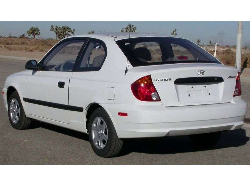 Hyundai Verna LC Hatchback 3 dv. 1.5 AT (2000–2003)