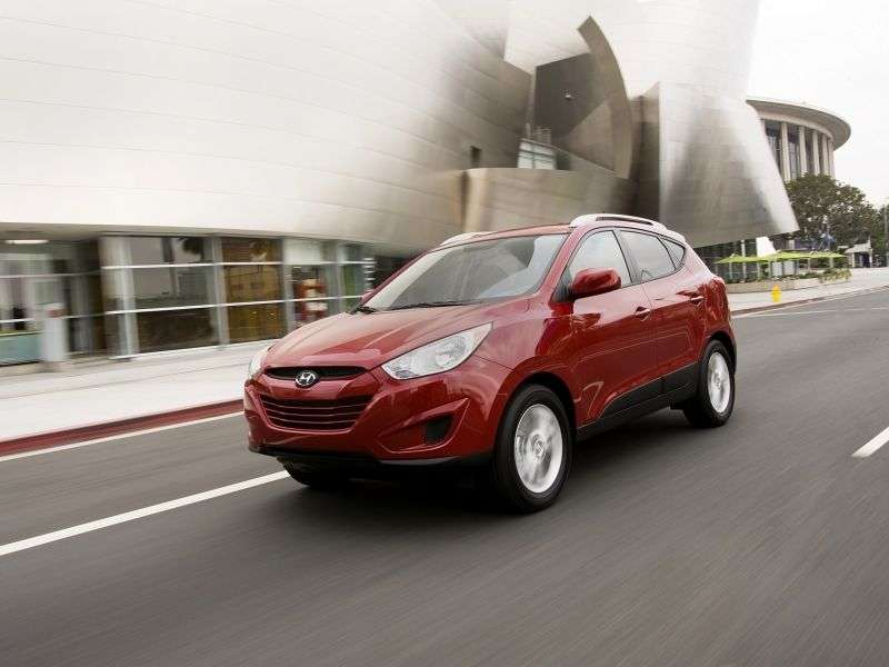 Hyundai Tucson 2nd generation crossover 2.0 AT 2WD (2010 – n.)