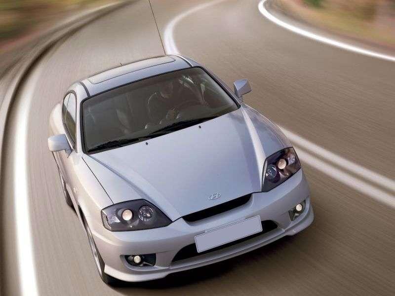 Hyundai Tiburon GK F / L [restyling] coupe 2.7 AT (2005–2006)