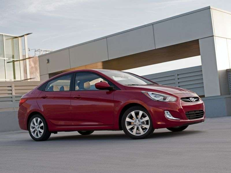 Hyundai Solaris 1st generation sedan 1.6 AT Comfort Euro 2012 (2010 – n.)