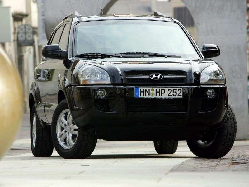 Hyundai Tucson 1st Generation Crossover 2.0 AT 2WD (2004–2010)