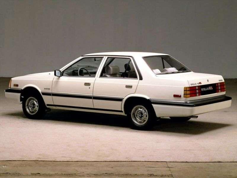 Hyundai Stellar 2nd generation sedan 2.0 AT (1986–1992)