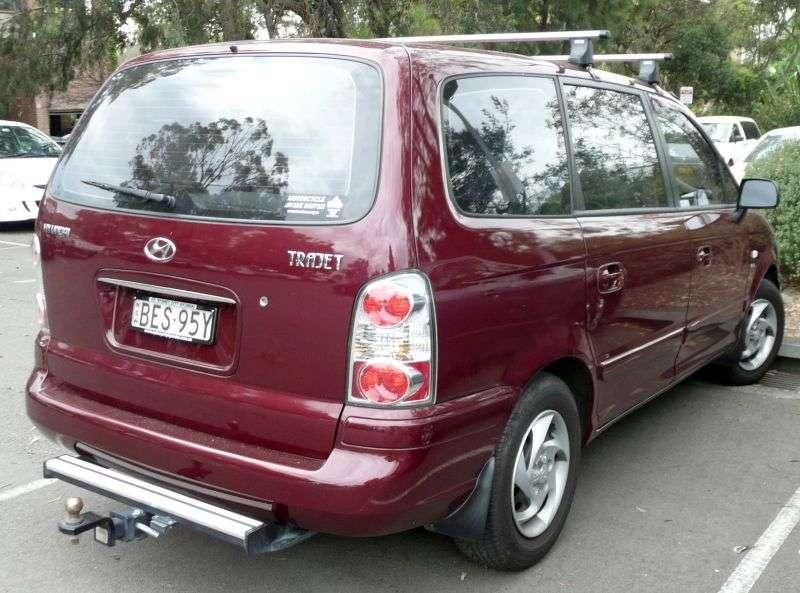 Hyundai Trajet 1st generation [restyled] minivan 2.0 CRDi MT (2004–2007)