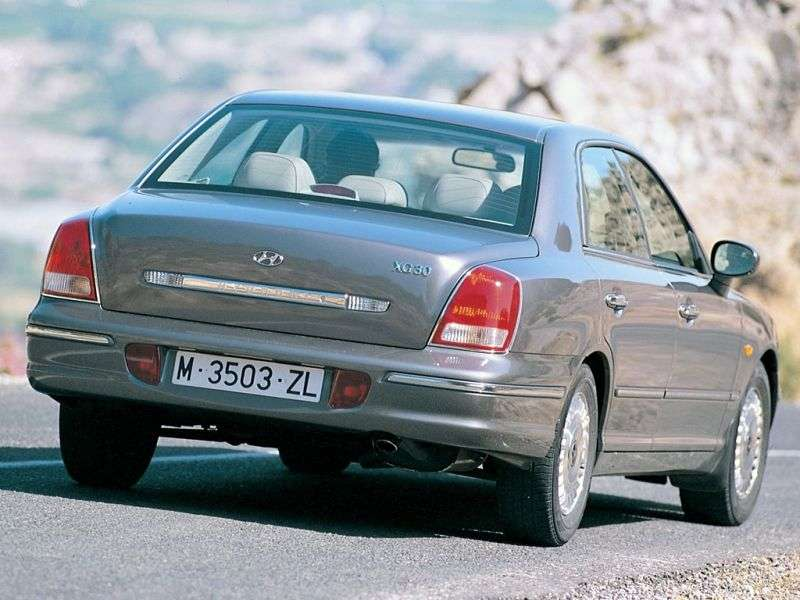 Hyundai XG 1st generation 2.5 MT sedan (1999–2001)