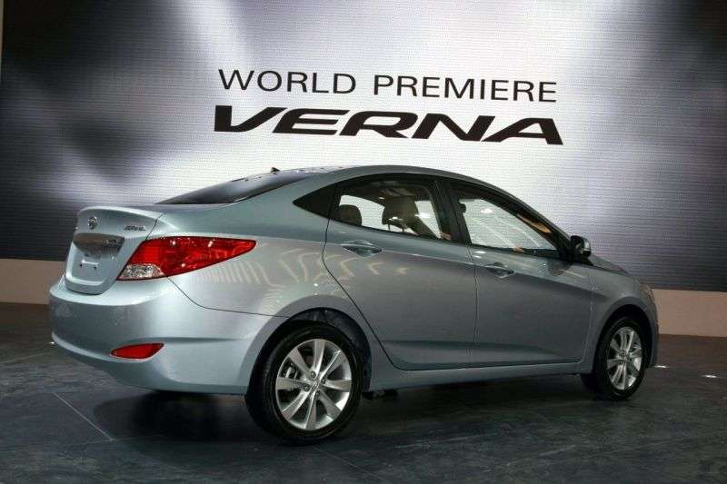 Hyundai Verna RBsedan 1.4 AT (2011 – n. In.)