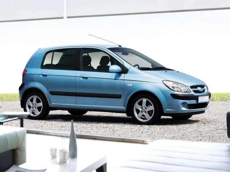 Hyundai TB 1st generation [restyled] hatchback 5 dv. 1.4 AT (2005–2009)