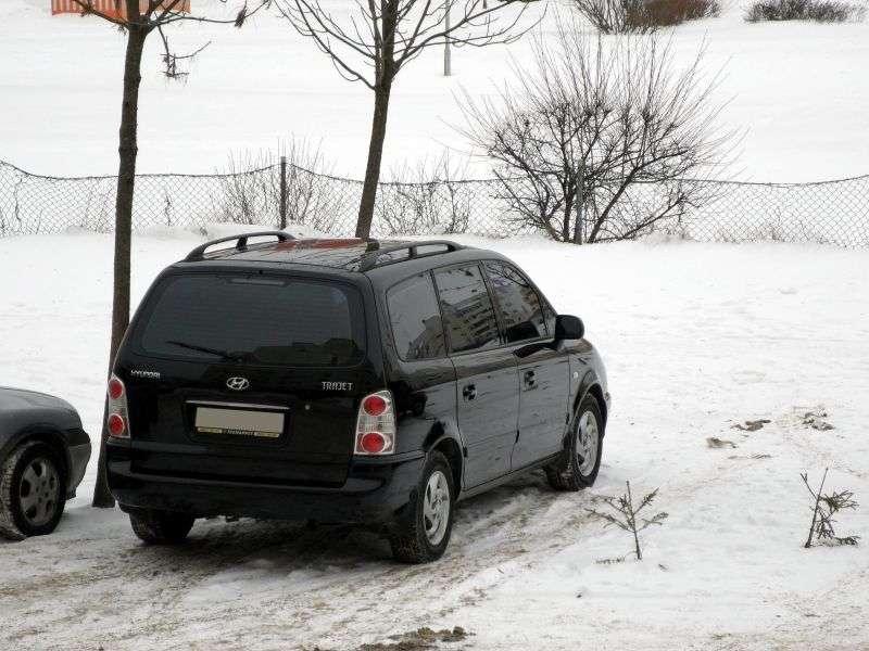 Hyundai Trajet pierwszej generacji [zmiana stylizacji] minivan 2.0 MT (2004 2007)