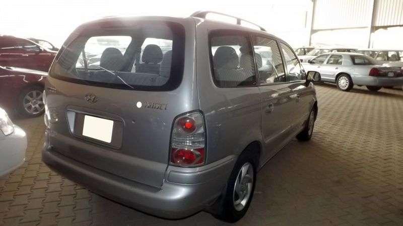 Hyundai Trajet 1st generation [restyled] minivan 2.7 AT (2004–2007)