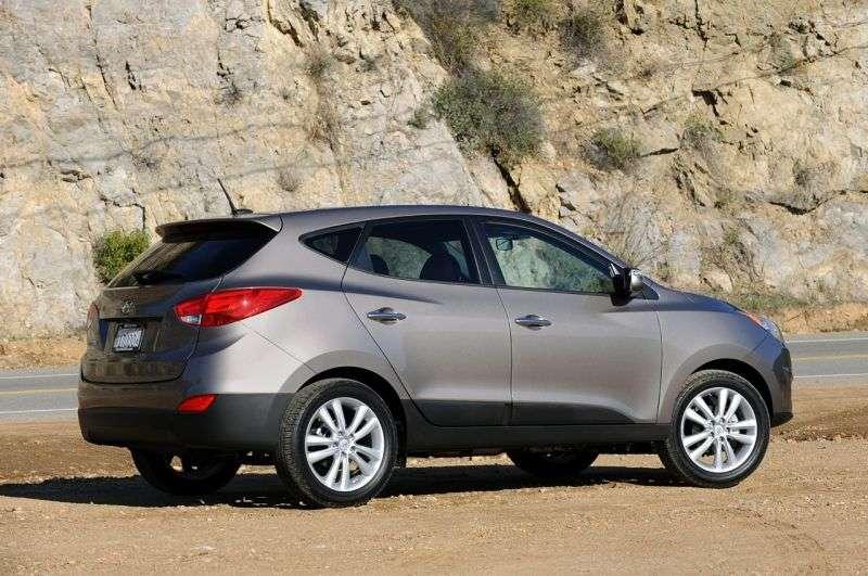 Hyundai Tucson ix 1st generation crossover 2.0 CRDi AT 2WD (2010 – n.)