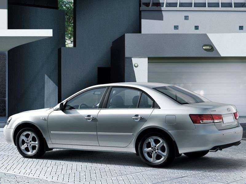 Hyundai NF 1st generation sedan 2.0 MT (2005–2008)