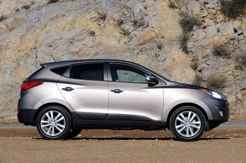 Hyundai Tucson ix 1st generation crossover 2.0 CRDi MT 4WD (2010 – n.)
