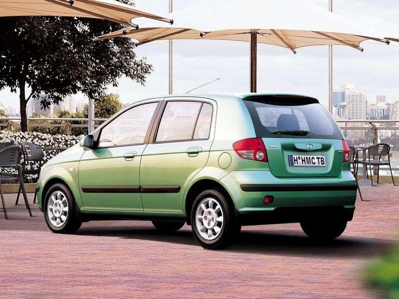 Hyundai TB 1 generation hatchback 5 dv. 1.3 AT (2002–2004)