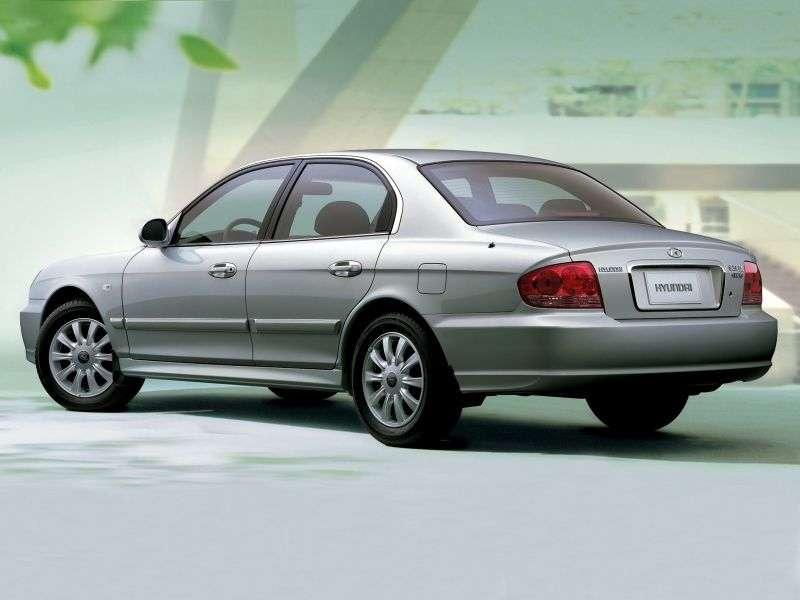 Hyundai Sonata EF Nowa [zmiana stylizacji] Tagaz sedan 4 drzwiowy. 2.0 MT MT6 (2004 obecnie)