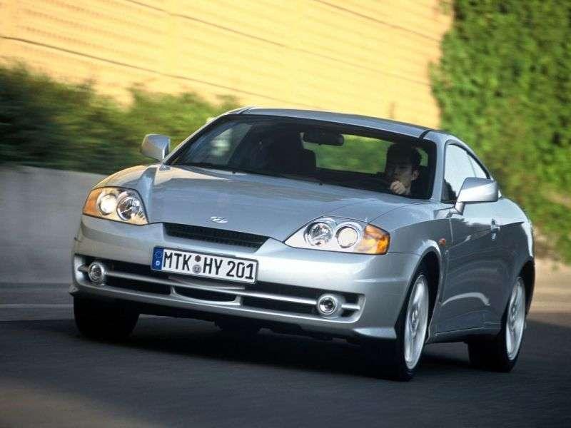 Hyundai Tiburon GK Coupe 2.0 MT (2003–2004)
