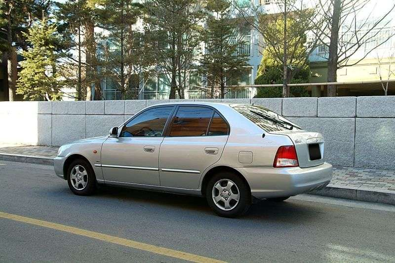 Hyundai Verna LC Hatchback 5 bit 1.5 AT (2000–2003)