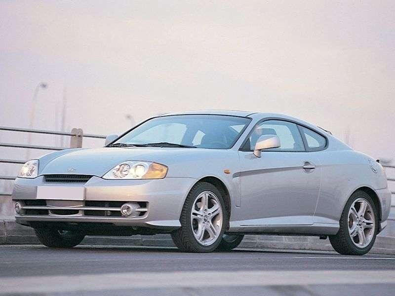 Hyundai Tiburon GK Coupe 2.7 6MT (2003–2004)