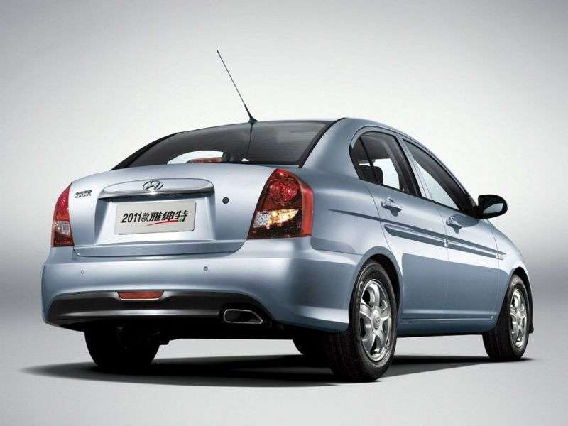 Hyundai Verna MC [restyling] Verna Transform Sedan 1.5 CRDi AT (2009–2010)