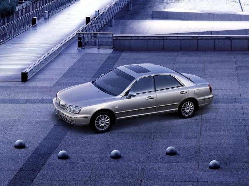 Hyundai XG 1st generation [restyled] sedan 3.5 AT (2003–2005)