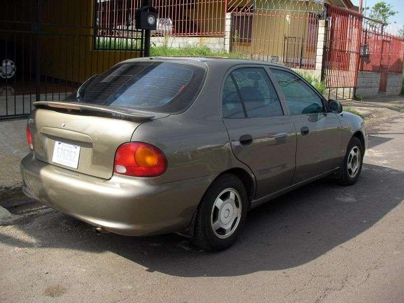 Hyundai Excel X3hetchbek 5 dv. 1.3 AT (1994–1997)