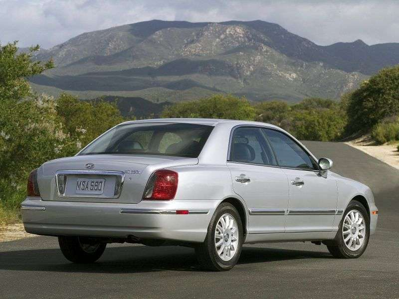 Hyundai XG 1st generation [restyled] 2.5 AT sedan (2003–2005)