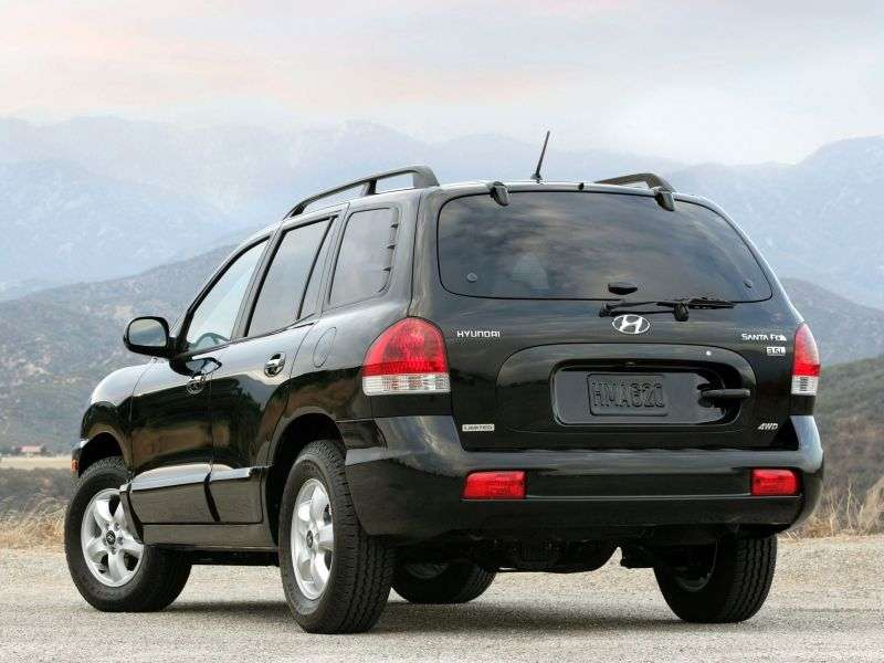 Hyundai Santa Fe Classic [restyled] crossover 2.7 AT AT6 (2007 – v.)