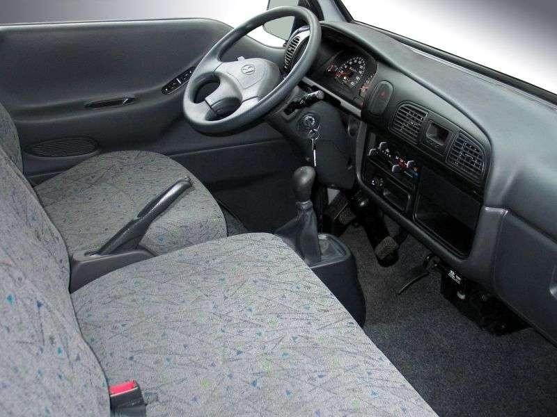 Hyundai Porter 3rd generation chassis 2.5 TD MT GLS (A4) (1996 – n.)