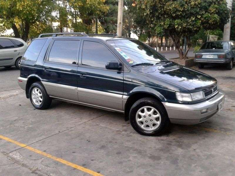 Hyundai Santamo 1st generation 5 door minivan 2.0 AT (1999–2002)