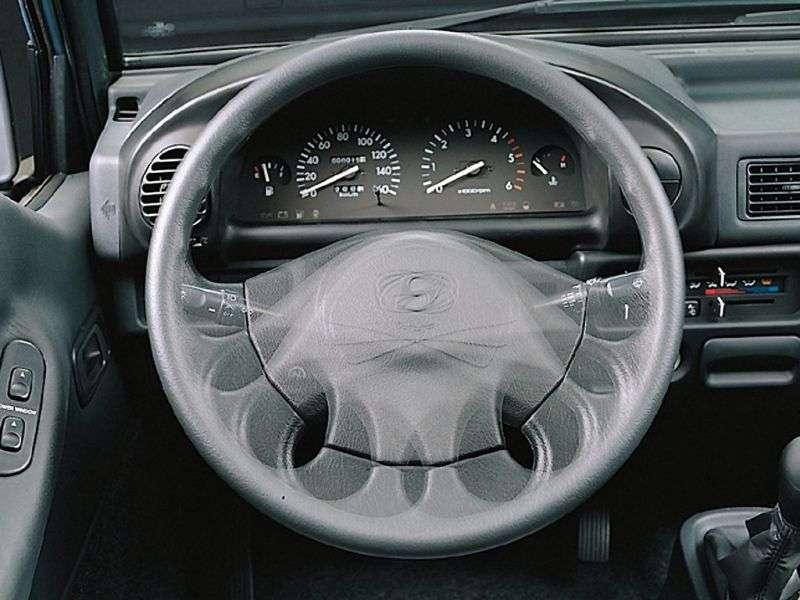 Hyundai Porter 3rd generation chassis 2.5 TD MT GL (A3) (1996 – n.)