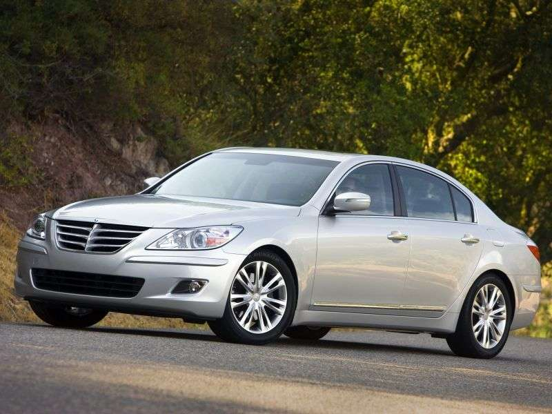 Hyundai Genesis 1st generation sedan 3.3 Shiftronic (2008–2011)