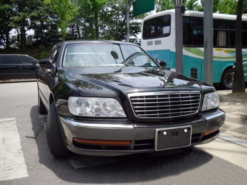 Hyundai Equus 1st generation [restyled] sedan 4.5 AT (2003–2007)