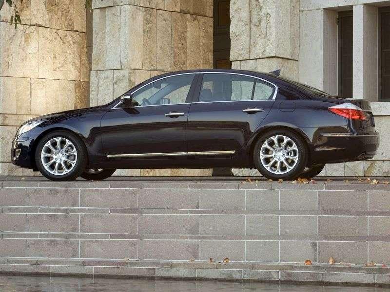 Hyundai Genesis 1st generation sedan 4.6 AT (2010–2011)