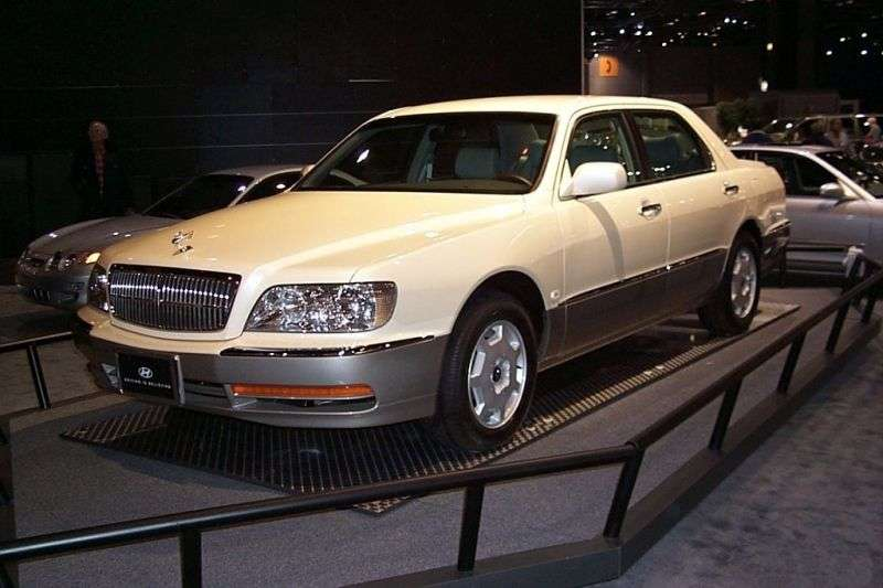 Hyundai Equus 1st generation sedan 3.0 AT (2001–2003)