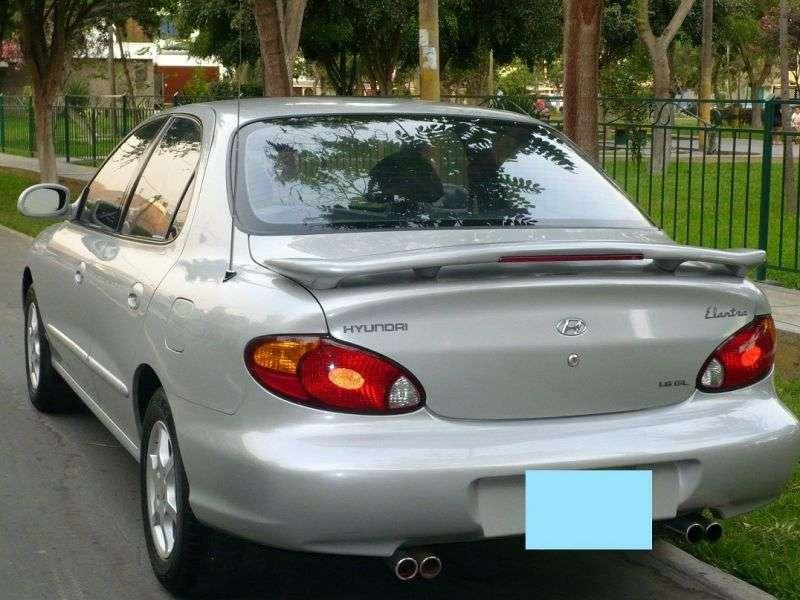 Hyundai Elantra J2 [restyled] sedan 1.6 AT (1998–2000)