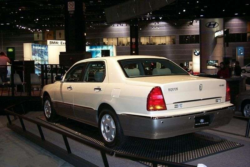 Hyundai Equus 1st generation sedan 3.5 AT (2003–2003)