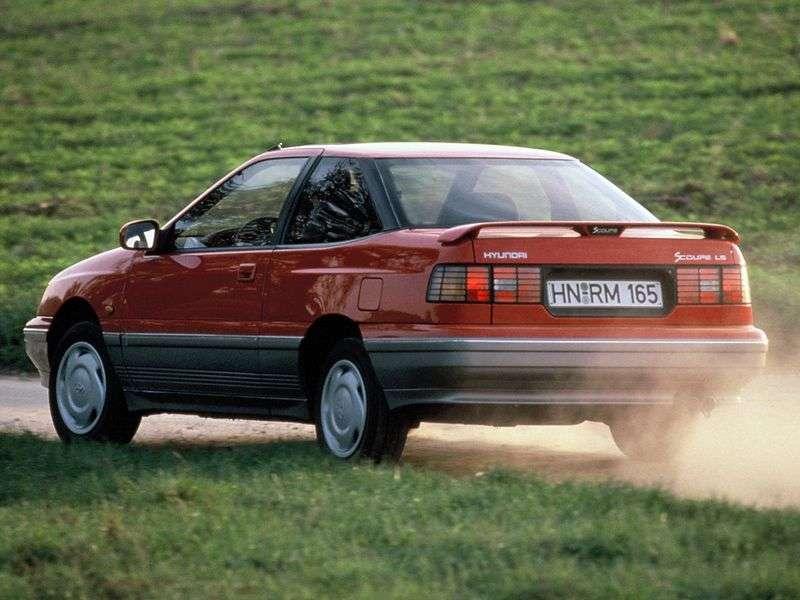 Hyundai S Coupe 1st generation coupe 1.5 MT (1990–1992)