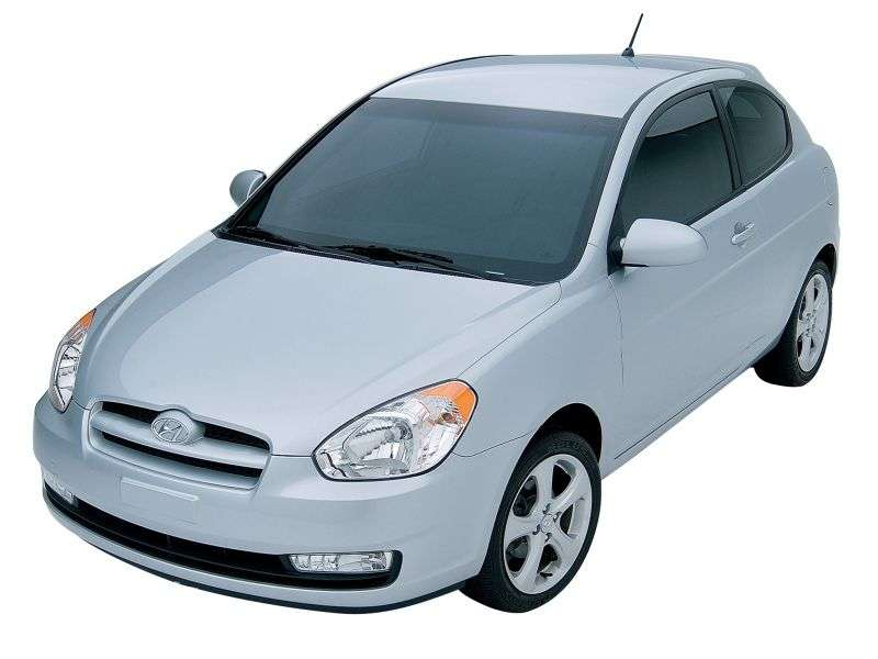 Hyundai Accent MChatchback 1.4 MT (2006–2010)