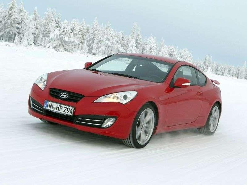 Hyundai Genesis 1 generation coupe 2 bit. 2.0 T MT Ultimate (2009–2012)
