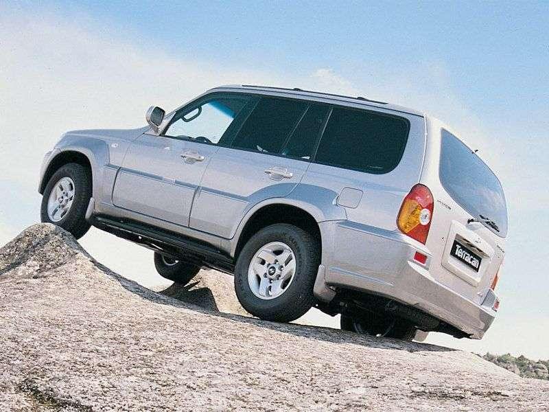 Hyundai Terracan 1st generation SUV 2.9 MT 4WD (2001–2004)