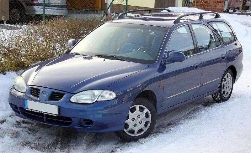 Hyundai Elantra J2 [restyling] 1.6 MT wagon (1998–2000)