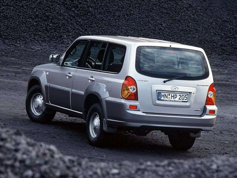 Hyundai Terracan 1st generation SUV 2.9 AT 4WD (2001–2004)