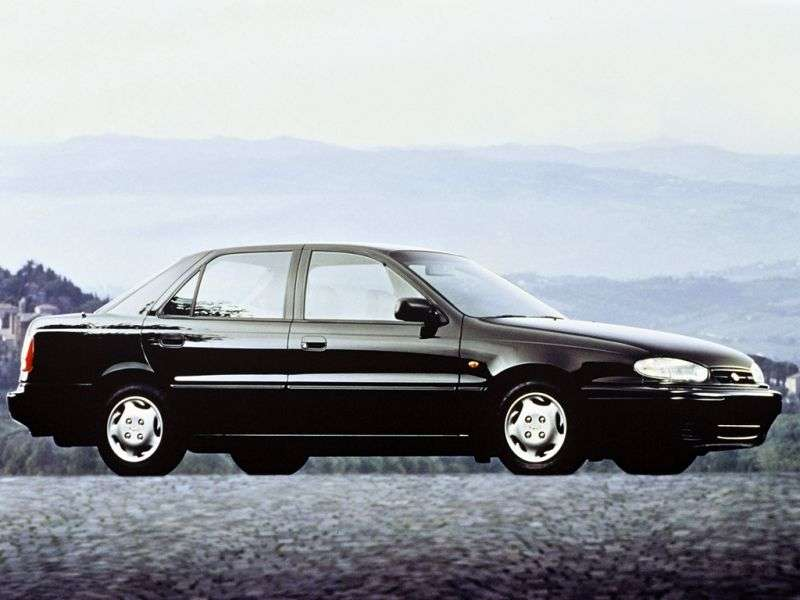Hyundai Elantra J1 [restyling] 1.5 MT sedan (1993–1995)