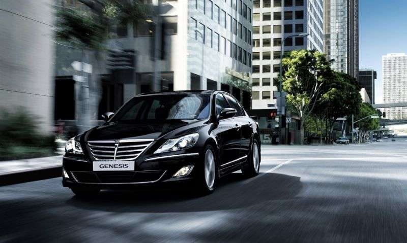 Hyundai Genesis 1st generation [restyled] sedan 3.8 AT Luxury + DIS (2011–2012)