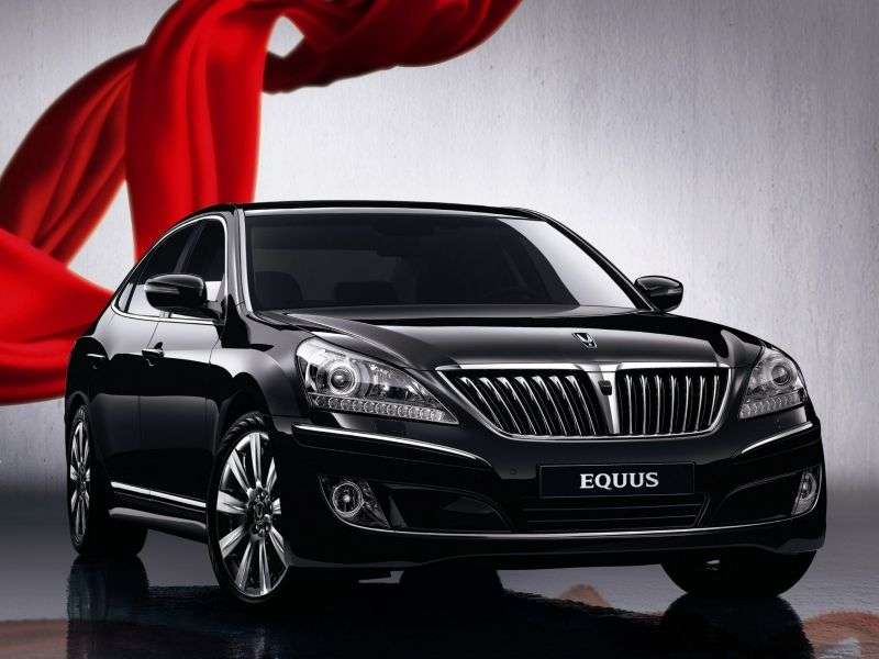 Hyundai Equus 2nd generation sedan 3.8 AT Luxury (2012) (2012–2013)