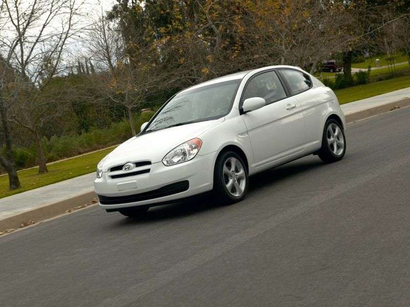 Hyundai Accent MChatchback 1.6 AT (2006–2010)