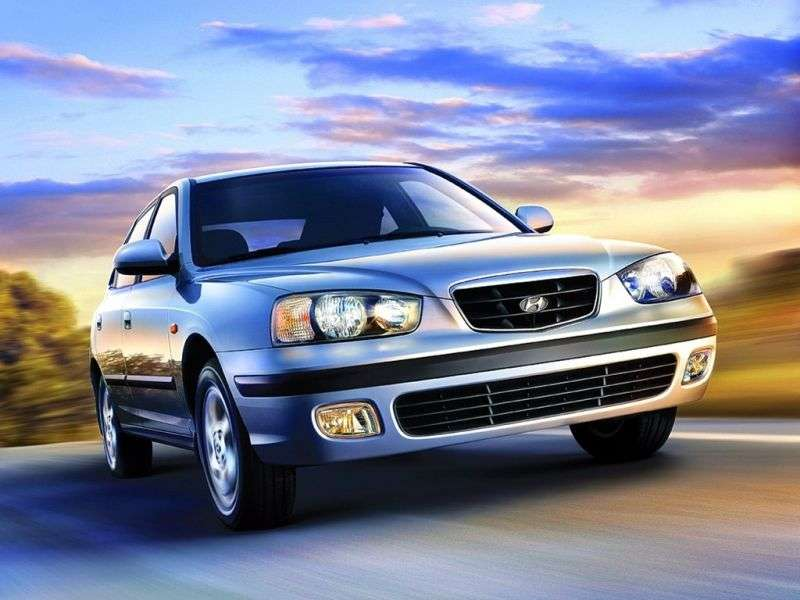 Hyundai Elantra XDetchback 2.0 AT (2000–2003)