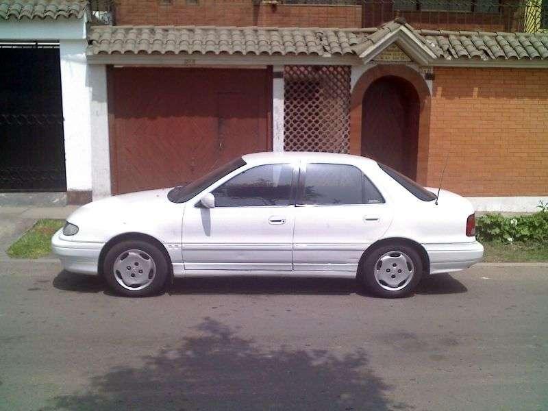 Hyundai Elantra J1 [restyling] 1.8 MT sedan (1993–1995)